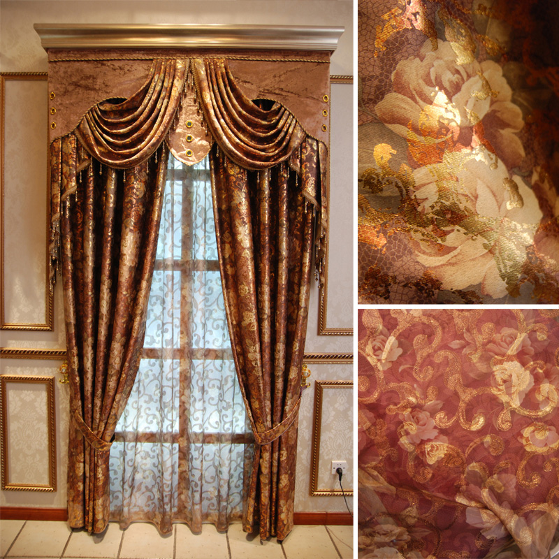 Mid century curtains