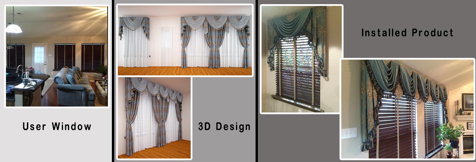 Custom Bay Window Kitchen Window Treatments Ulinkly