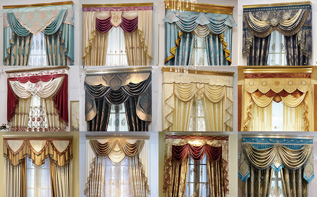 Custom valances for living room 2017 2018 best cars for Unique drapes and curtains