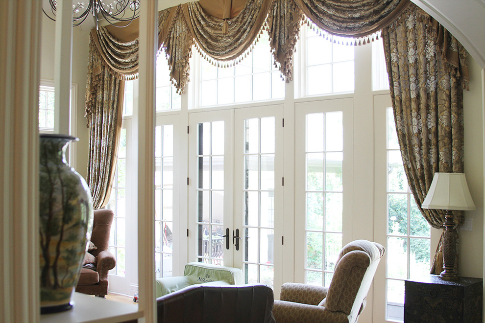 Drapes For Large Windows Beautiful Living Room Long